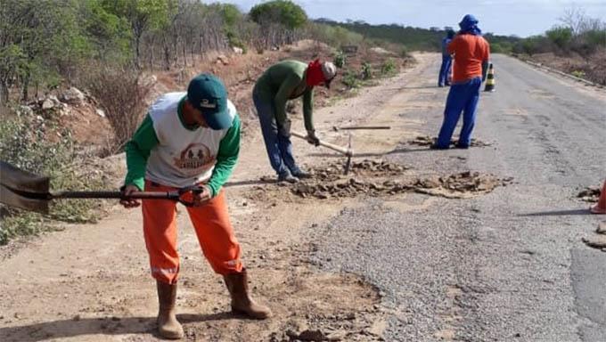 Imagem 1 -  Rodovias estaduais estão sendo recuperadas com recursos arrecadados com multas aplicadas pelo DETRAN